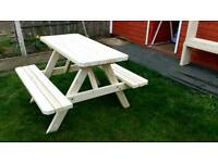 New picnic table for sale.