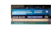 4 Alistair Maclean Books, Caravan to Vaccares, Time Of The Assassins, Way to Dusty Death, Force 10