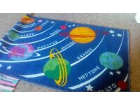 Kids planet rug