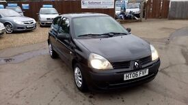 LOW MILEAGE RENAULT CLIO 1.2 & NEW MOT AND WIDE UK WARRANTY INCLUDE ON SALE