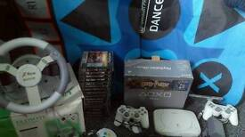 Psone with games etc
