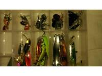 Fishing lures/spinners