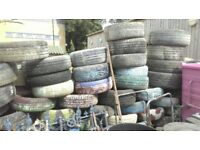 Tyres - assorted - collect for free
