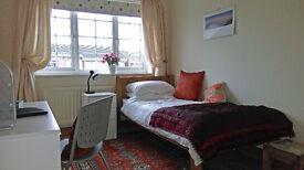 Single Room, Furnished, Large Semi-detached House.