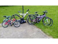 5 pedal bikes for sale used