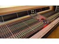 Looking for a band to record on either a Neve Vr Legend or an SSL G+