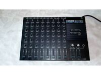 BOSS BX-80 8 Channel Stereo Mixer.