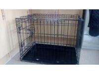 Dog cage vgc
