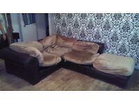 Free Corner sofa.