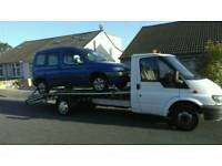 SCRAP CARS & VANS WANTED 4 CASH SAME DAY COLLECTION