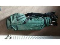 7golf bags & 40 golf clubs.