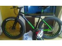 Voodoo wazoo fat bike may swap full sus or hardtail