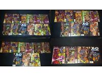 AVAILABLE IF LISTED. JOBLOT. 77 COMICS. New Sleeves. Runs. XO MANOWAR, ZOT! etc. PICS and LIST