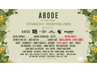 Abode In The Park Ticket