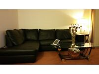 """Great Condition /Little used """"L"""" shaped stylish sofa. 2m x 2.65m. To be collect by buyer."""
