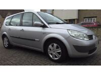 2006 56 Renault Grand Scenic 2.0 VVt 6 speed Gearbox AUTOMATIC 7 Seats.