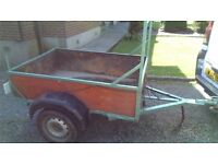 Trailer for sale. 6x4 ft trailer with ladder rack