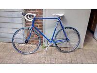 Dawes Civic Steel Frame Fixie Single Speed Retro Bike Bicycle