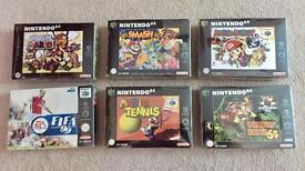 Nintendo N64 Games Bundle Mario etc