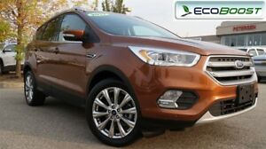 2017 Ford Escape Titanium| Tech/Safety Pkg| Sun| Nav| Heat Leath