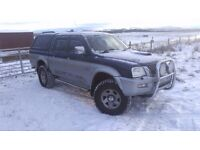 MITSUBISHI L200 DOUBLE CAB LWB PICK UP