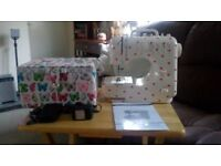 SEWING MACHINE ELECTRIC PLUS SEWING BOX ALL MATHCING, ALL BRAND NEW,