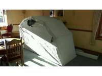 Motorcycle quad bike storage shelter tent shed