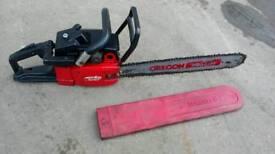 "Jonsered 18"" chainsaw"