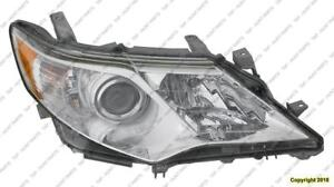 Head Lamp Passenger Side L/Le/Xle/Hybrid Toyota Camry 2012-2014