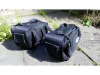 Motorcycle Panniers - soft luggage