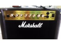 Marshall Amp MG Series 15DFX for electric guitars / bass excellent condition