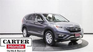 2015 Honda CR-V EX + HITCH! + AWD + SUNROOF + CERTIFIED!