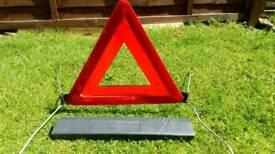Saab emergency triangle