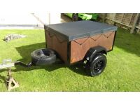 Box trailer 3x4 ideal for camping