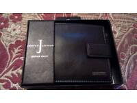 Men's leather wallet genuine