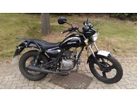 Zontes 50 cc moter bike in good working order selling due needs car now .some small dent pictured