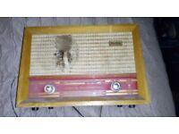 Philips Stella 1950's Antique Radio. Needs restoration.FREE!! MUST GO TODAY!!