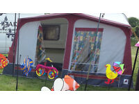 "Great Condition 1988 ABBEY GT 2 BERTH CARAVAN INC. AWNING 17'3"" TOW LENGTH"