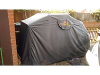 Storm Guard motorcycle cover/shed