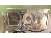 Brand new stainless kitchen sink