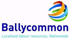 Ballycommon Services are looking for experienced Ground Workers & Dumper/Roller drivers in Margate