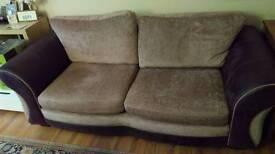 Large 2 seated sofa