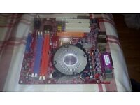 PC mother board and 2.8 GHz processor