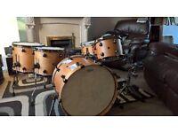 cherry custom drums