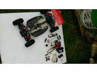 1:8 nitro buggy compleat engine runs