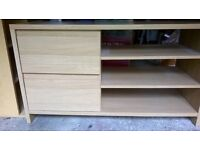 TV stand beech laminated wood