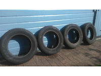 14 Inch Winter tyres (165/70/R14)