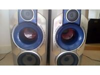 Aiwa speakers with built in subs