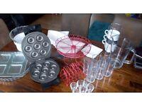 bundle kitchen accessories donut maker glasses etc