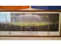 Celtic fc framed photo